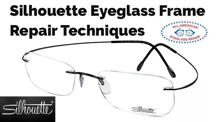 5c54d91ffa5e Silhouette Eyeglass Frame Parts & Repairs | All American Eyeglass Repair